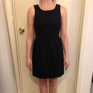 J.Crew Black Tulip Skirt Dress